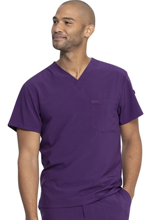 Dickies Men's V-Neck Top Eggplant (DK635-EGG)