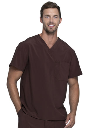 Dickies EDS Essentials Men's V-Neck Top in Espresso (DK635-ESP)