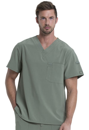 Dickies EDS Essentials Men's V-Neck Top in Olive (DK635-OLV)
