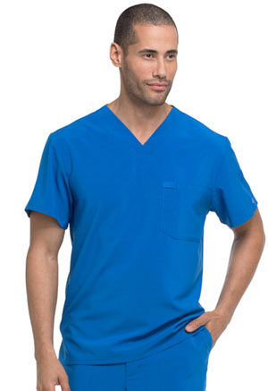 Dickies EDS Essentials Men's V-Neck Top in Royal (DK635-RYPS)
