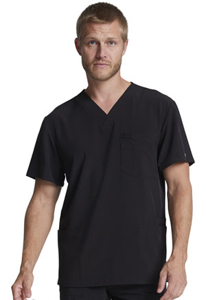 Dickies Men's V-Neck Top Black (DK645-BAPS)