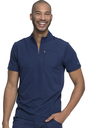 Dickies Dynamix Men's Tuckable Popover Top in Navy (DK860-NAV)