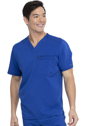 Dickies Balance Men's V-Neck Top in Galaxy Blue (DK865-GAB)