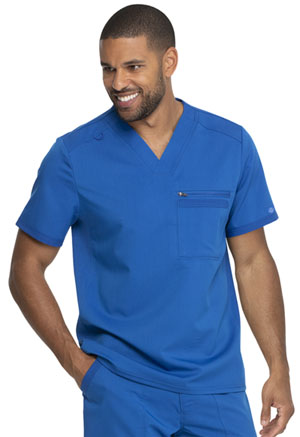 Dickies Balance Men's Tuckable V-Neck Top in Royal (DK865-ROY)