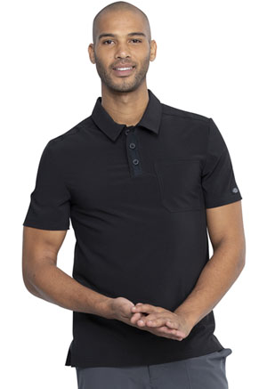 Dickies Men's Polo Top Black (DK925-BAPS)