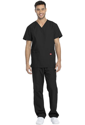 Dickies Promo Unisex Top and Pant Set in Black (DKP520C-BLKW)
