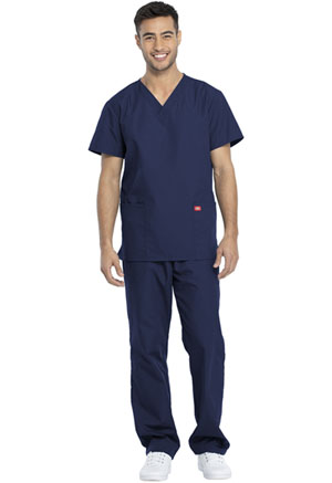 Dickies Promo Unisex Top and Pant Set in Navy (DKP520C-NAVW)
