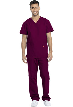 Dickies Promo Unisex Top and Pant Set in Wine (DKP520C-WINW)