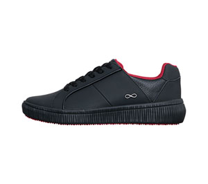 Infinity Footwear DRIFT Black, Black, Red (DRIFT-BBRE)