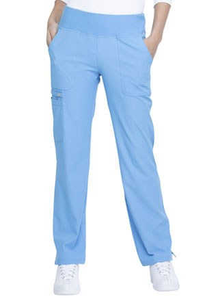 Mid Rise Straight Leg Pull-on Pant (EL130-BUEE)