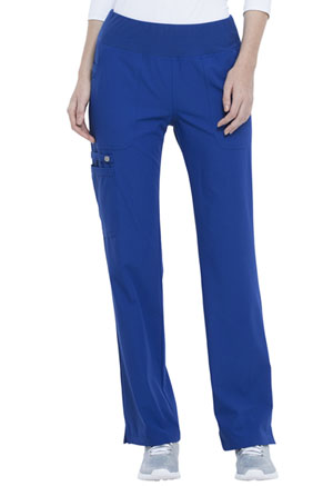 Elle Mid Rise Straight Leg Pull-on Pant Galaxy Blue (EL130-GAB)