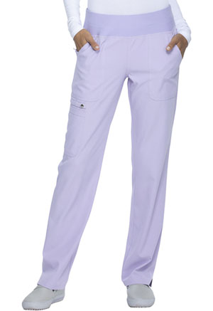 Simply Polished Mid Rise Straight Leg Pull-on Pant (EL130-LILS) (EL130-LILS)