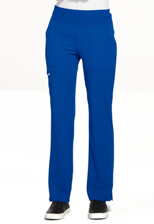 Elle Mid Rise Straight Leg Pull-on Pant Royal (EL130-ROY)