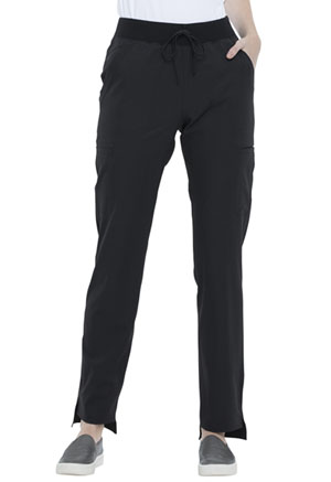 Simply Polished Natural Rise Straight Leg Pant (EL167-BLK) (EL167-BLK)