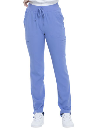 Simply Polished Natural Rise Straight Leg Pant (EL167-CIE) (EL167-CIE)