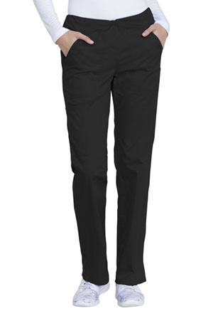 Genuine Dickies Industrial Strength Mid Rise Straight Leg Drawstring Pant in Black (GD100-BLK)