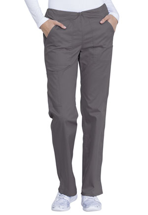Genuine Dickies Industrial Strength Mid Rise Straight Leg Drawstring Pant in Pewter (GD100-PWT)