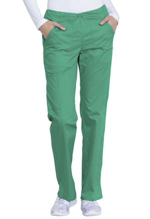 Dickies Mid Rise Straight Leg Drawstring Pant Surgical Green (GD100-SGR)