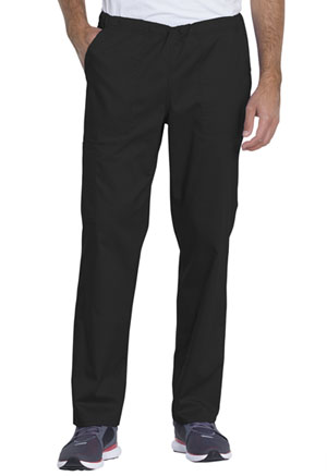 Genuine Dickies Industrial Strength Unisex Mid Rise Straight Leg Pant in Black (GD120-BLK)