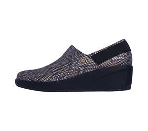 Infinity Footwear GLIDE Metallic Snake with Black (GLIDE-MABA)