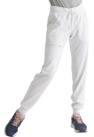 Heartsoul Low Rise Jogger White (HS030-WHIH)