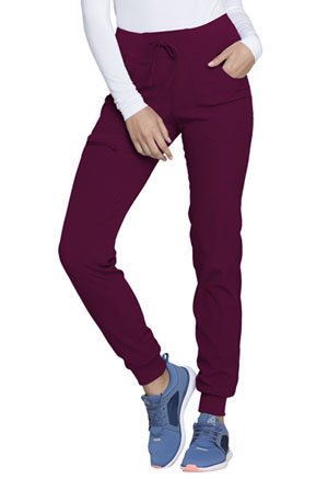 HeartSoul Low Rise Tapered Leg Jogger Wine (HS030-WINH)