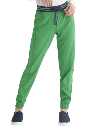 Heartsoul Rib Knit Waist Jogger Kelly Green (HS090-KEGR)