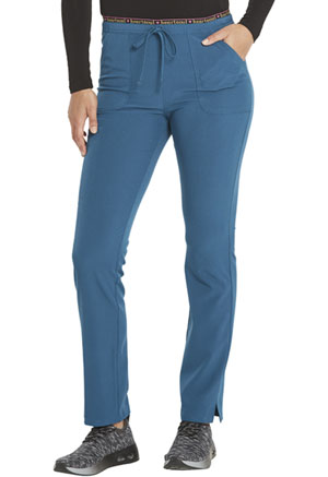 Heartsoul Mid Rise Tapered Leg Drawstring Pant Caribbean Blue (HS185-CABH)