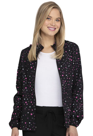 Heartsoul Zip Front Jacket Heart Of Hearts (HS301-HRHT)