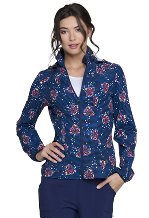 Heartsoul Zip Front Jacket Tropical Love (HS301-TRLO)