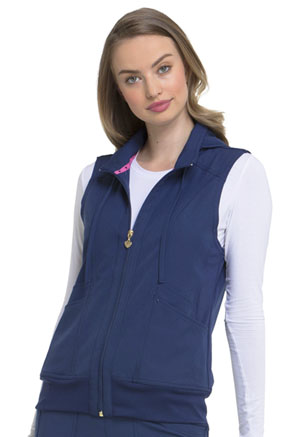 Break on Through Zip Front Vest (HS500-NAYH) (HS500-NAYH)