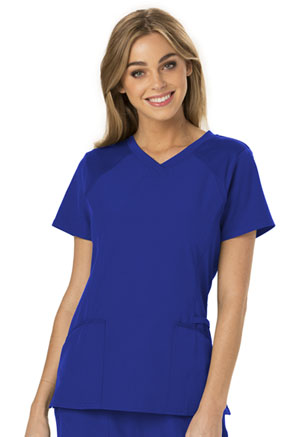 Break on Through V-Neck Top (HS660-ROYH) (HS660-ROYH)