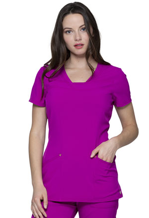 HeartSoul V-Neck Top Magic Magenta (HS665-MENA)
