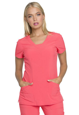 Love Always V-Neck Top (HS665-PEPO) (HS665-PEPO)