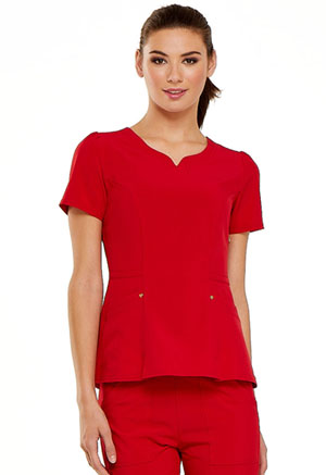 Love Always V-Neck Top (HS670-RED) (HS670-RED)