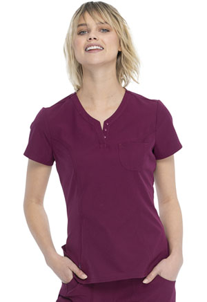 Heartsoul V-Neck Top Wine (HS710-WINH)