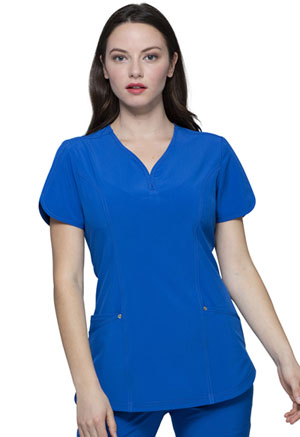 HeartSoul V-Neck Top Royal (HS725-RYPS)