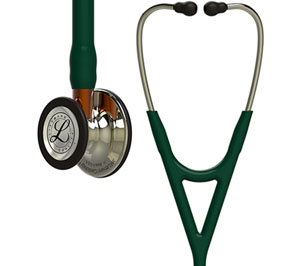 Littmann Cardiology IV Diagnostic Stethoscope Pop Hunter Green (L6206CFH-HUN)