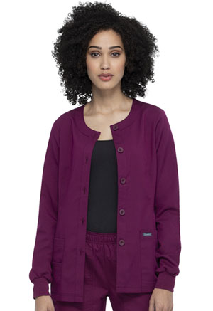 Sanibel Warm-up Jacket Wine (PL300-WIRS)