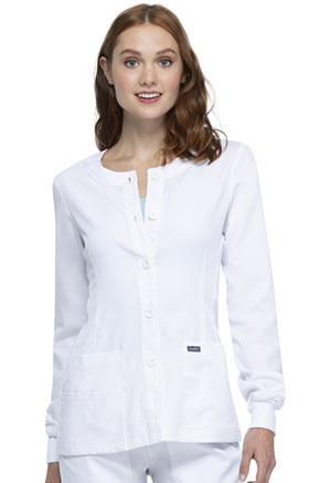 Sanibel Warm-up Jacket White (PL300-WTRS)
