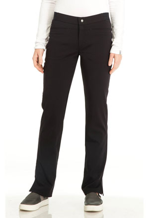 "Sapphire Sapphire Women's ""Roma"" Low Rise Zip Fly Slim Pant Black"