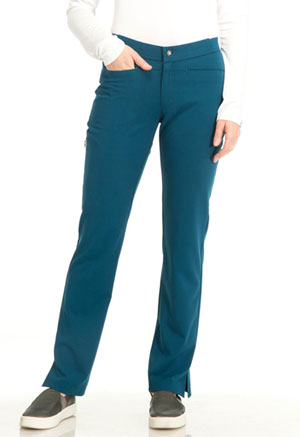 Sapphire Roma Low Rise Zip Fly Slim Pant Caribbean Blue (SA101A-CAR)