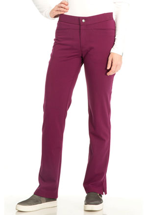 Sapphire Roma Low Rise Zip Fly Slim Pant Wine (SA101A-WIN)