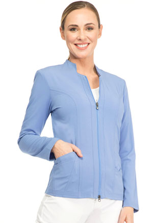 "Sapphire Sapphire Women's ""Melrose"" Notched Jacket Blue"