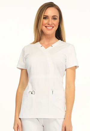 Madison Mock Wrap Top (SA600A-WTES)