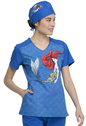 Tooniforms Scrubs Hat Magical Ariel (TF500-PRMG)