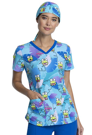 Tooniforms Scrubs Hat Keroppi Tropical (TF502-KPPP)
