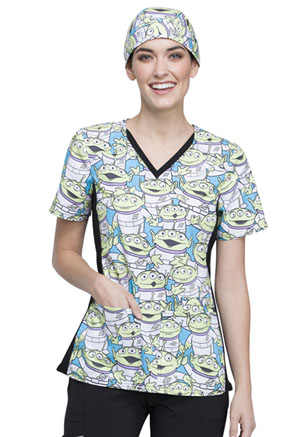 Tooniforms Scrub Hat Alien Life Form (TF502-TSAL)