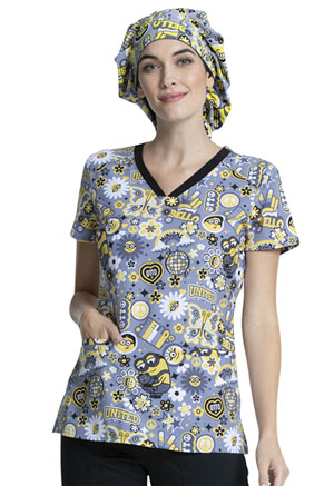 Tooniforms Bouffant Scrubs Hat Bello Minion (TF599-DPBO)