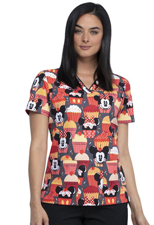 Tooniforms V-Neck Top Cute As A Cupcake (TF610-MKUT)